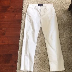 NYDJ in optic white size 4
